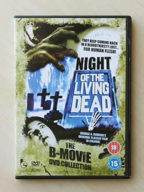 NIGHT OF THE LIVING DEAD.  (The B-Movie DVD collection)
