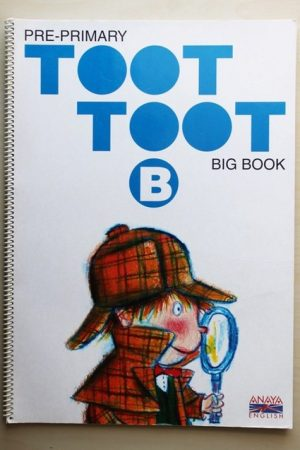 TOOT TOOT. Pre-primary. Big book. B