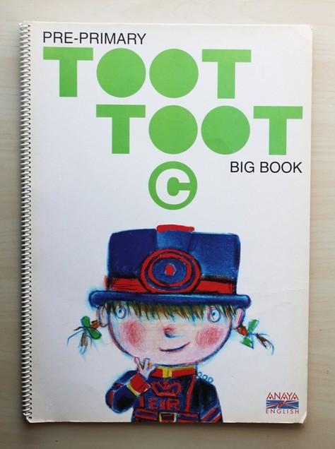 TOOT TOOT. Pre-primary. Big book. C