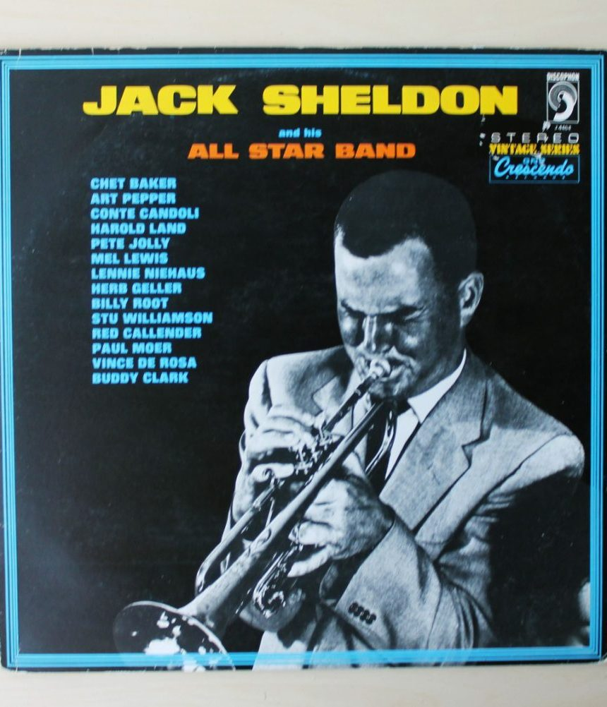 JACK SHELDON and his All Star Band.  (Vinilo LP)