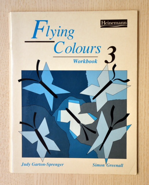 FLYING COLOURS 3. Workbook.  (Ed. Heinemann)