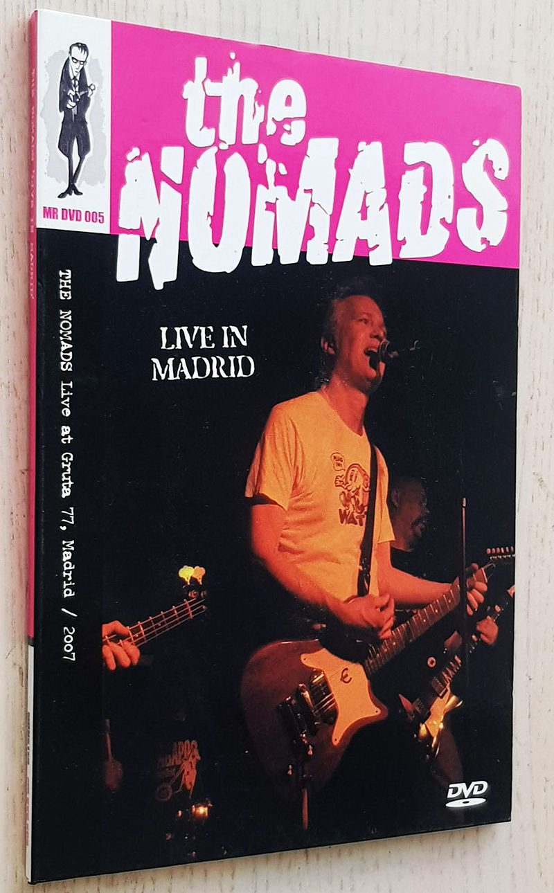 THE NOMADS. Live in Madrid (DVD)