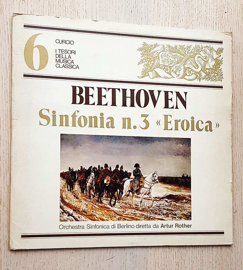 BEETHOVEN - SINFONIA n. 3 EROICA. orchestra Sinfonica di Berlino (vinilo LP)