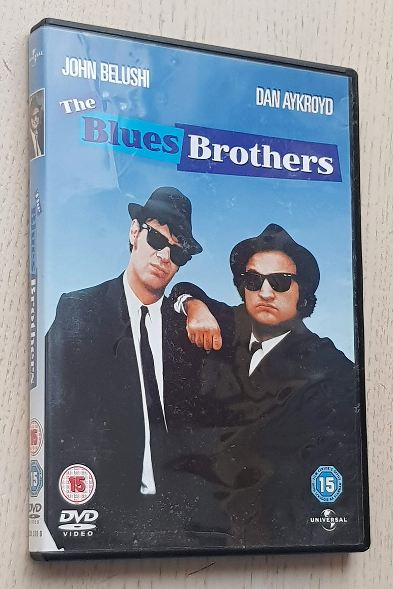 THE BLUES BROTHERS (DVD film / english edition)