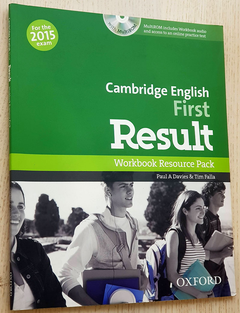 Cambridge English. FIRST RESULT. Workbook Resource Pack. With DVD.