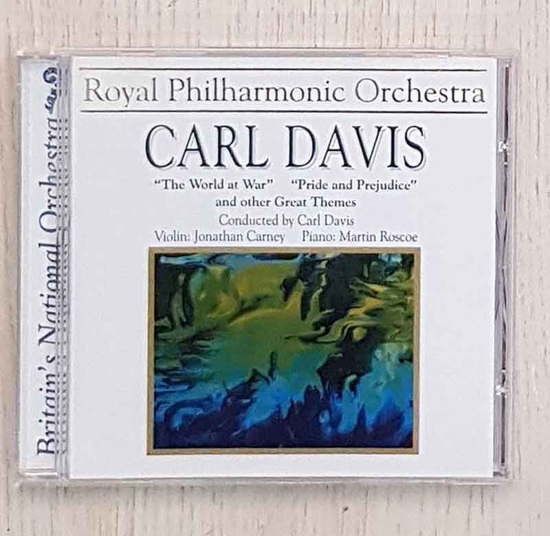 CARL DAVIS. The World at war. Pride and Prejudice. and other Great Themes. (CD)