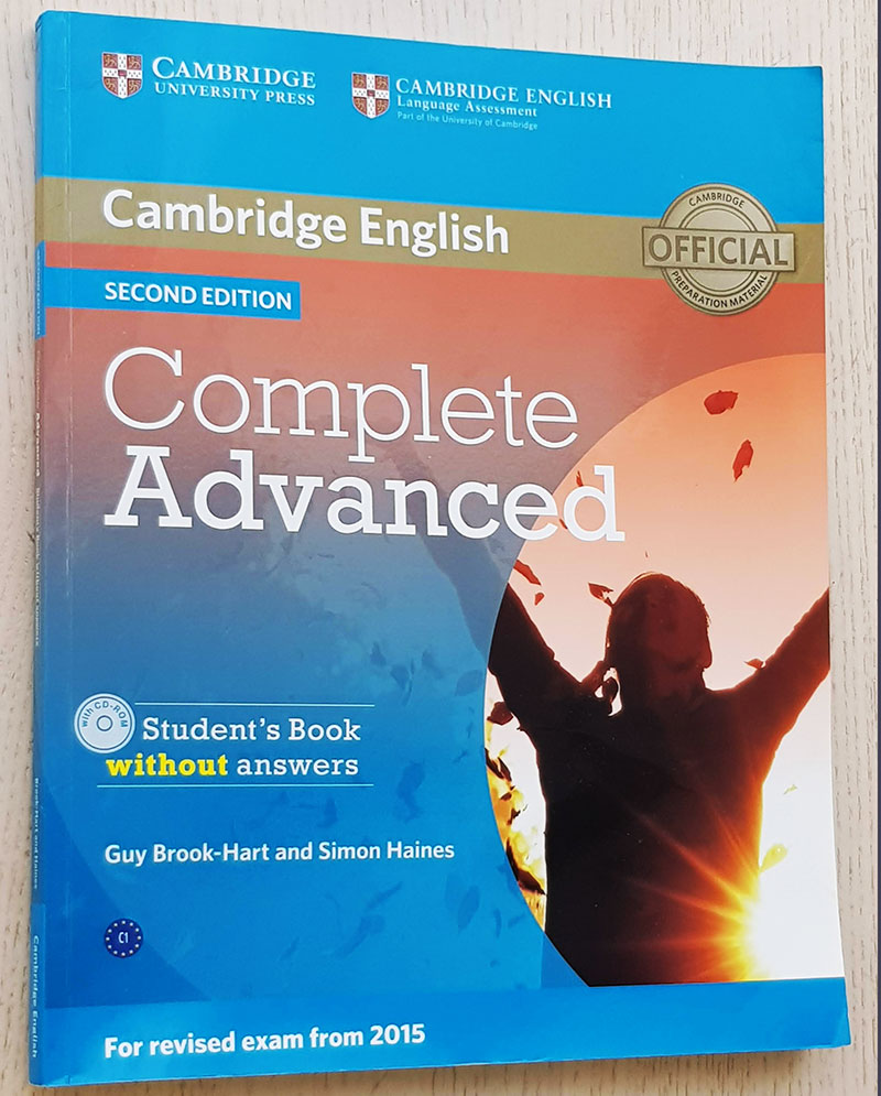 Cambridge English. COMPLETE ADVANCED. Student's Book without answers (with CD-ROM)