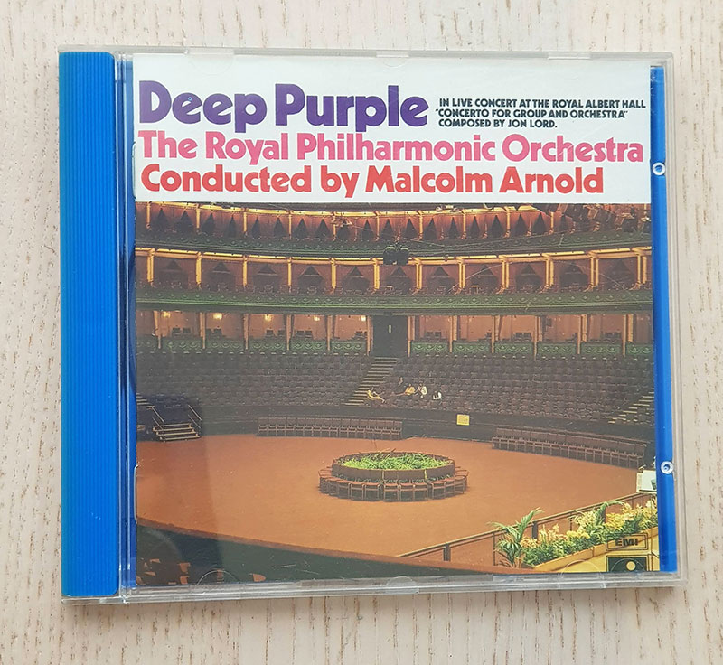 DEEP PURPLE - CONCERTO FOR GROUP AND ORCHESTRA. (CD music)