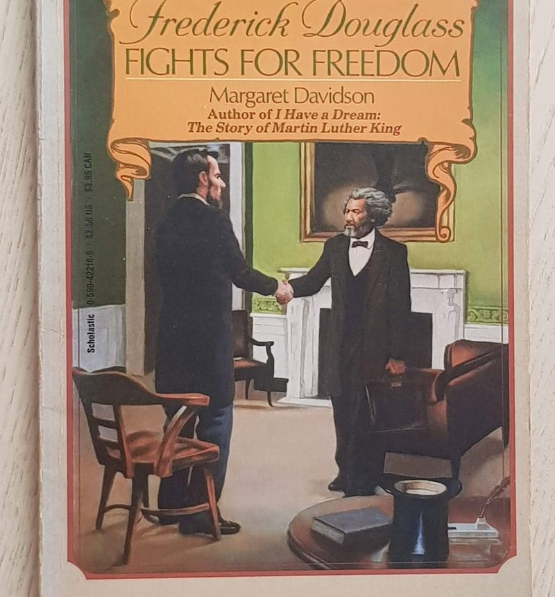FREDERICK DOUGLASS. FIGHTS FOR FREEDOM