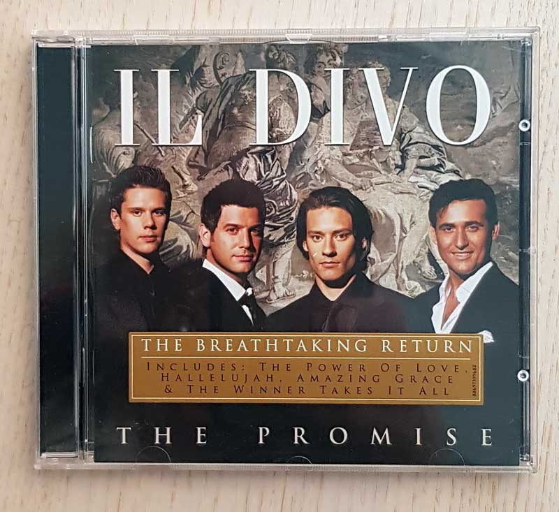 IL DIVO - THE PROMISE. (CD music)