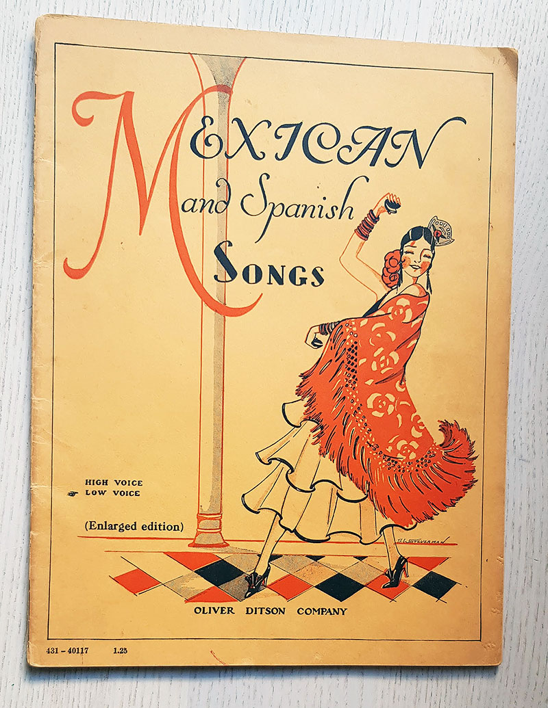 MEXICAN AND SPANISH SONGS. High voice. Low voice.