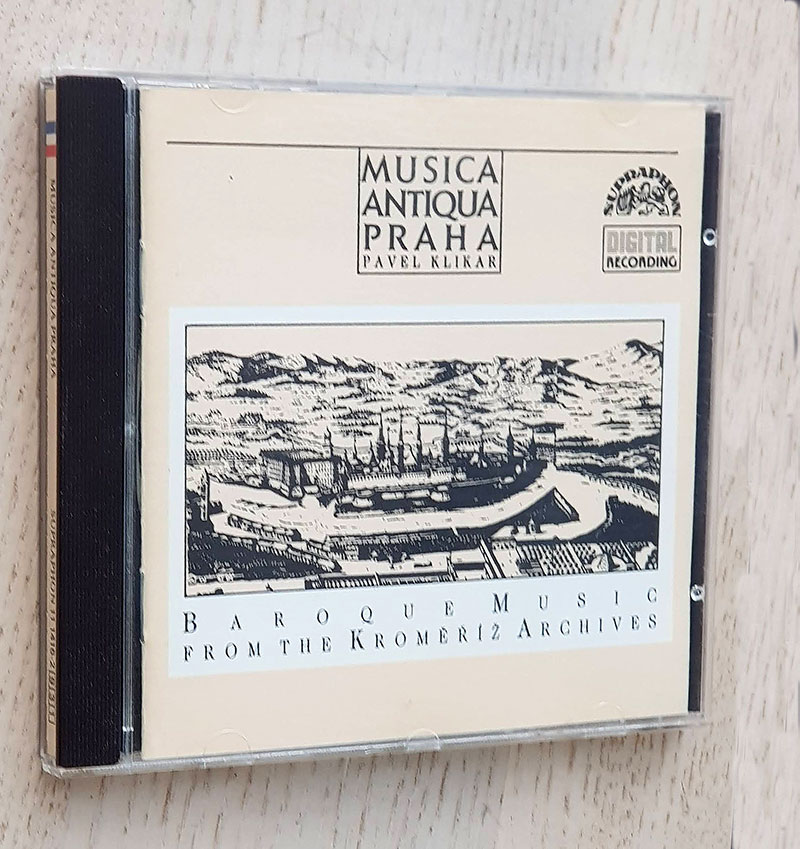 BAROQUE MUSIC FROM THE KROMERIZ ARCHIVES (CD muic)