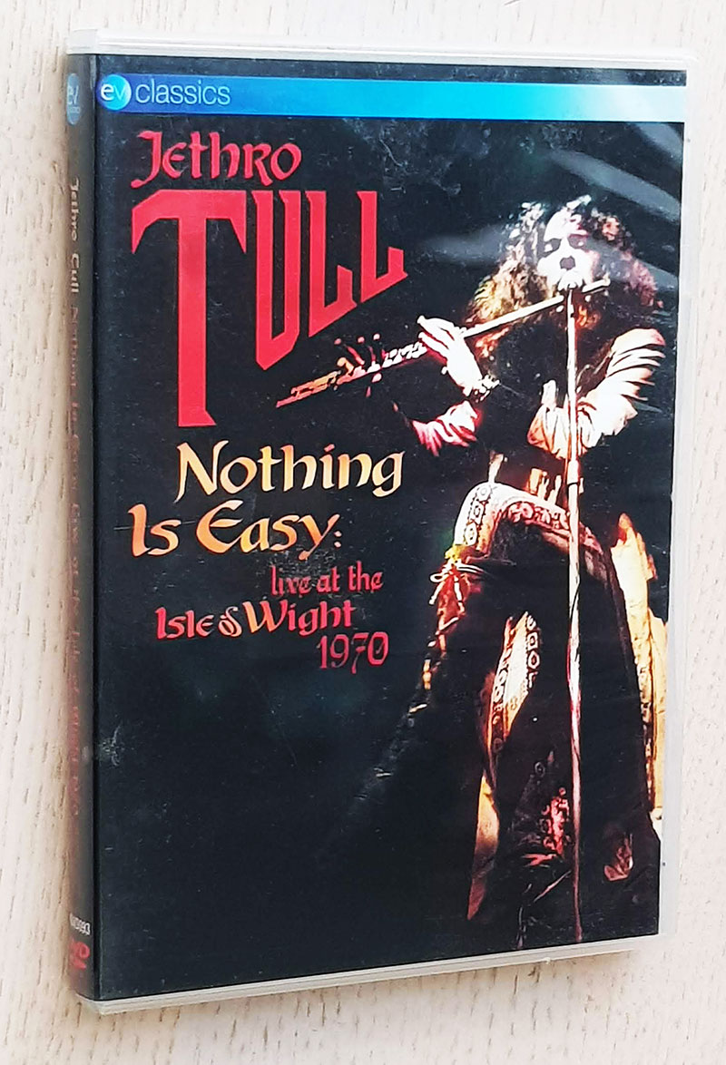 JETHRO TULL - NOTHING IS EASY. Live at Isle of Wight 1970 (DVD)