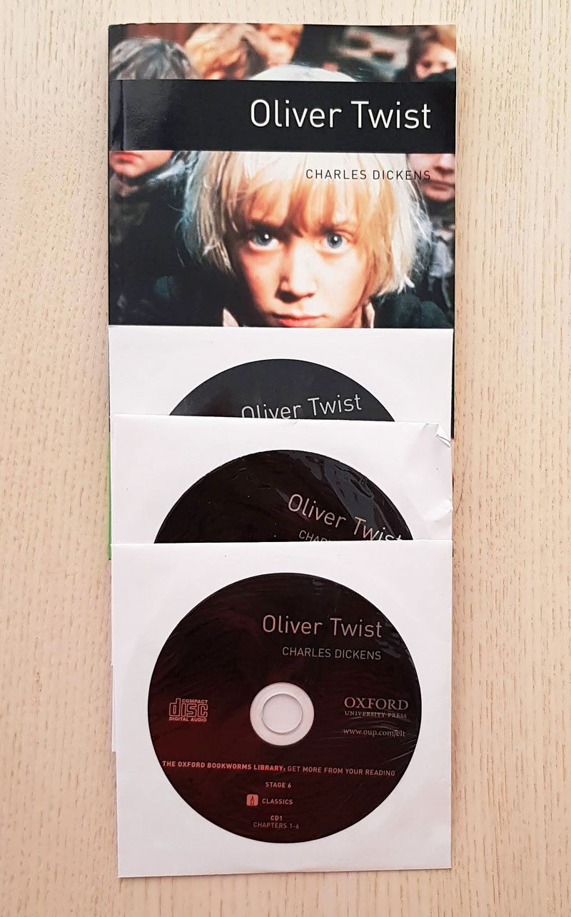 OLIVER TWIST.  (Oxford BookWorms / Stage 6 / with 3 CDs)