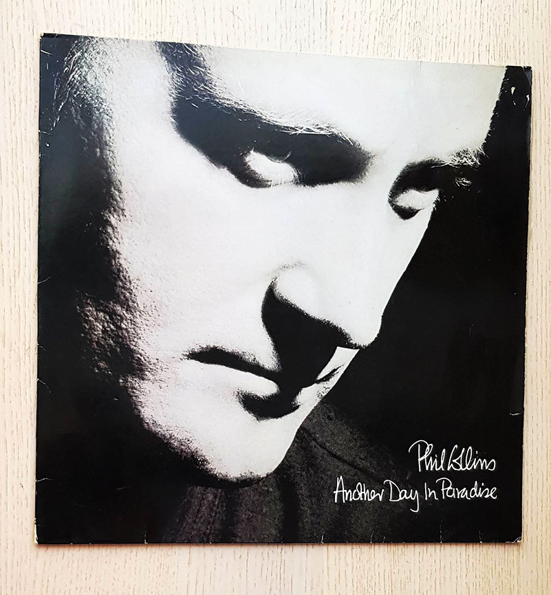PHIL COLLINS - ANOTHER DAY IN PARADISE (vinilo Maxi-Single)
