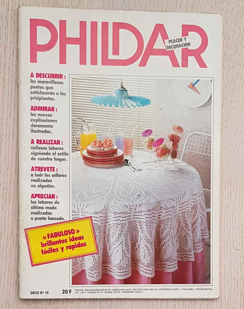 PHILDAR. Placer y decoración, nº 10.