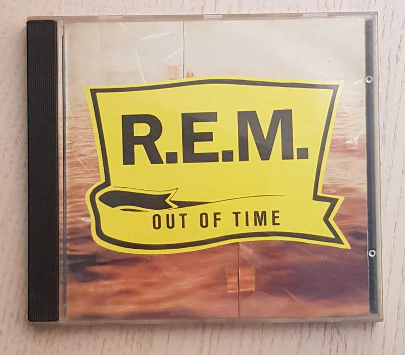 R.E.M. - OUT OF TIME. (CD music)